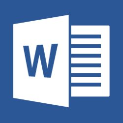 Microsoft Word 2013 icon